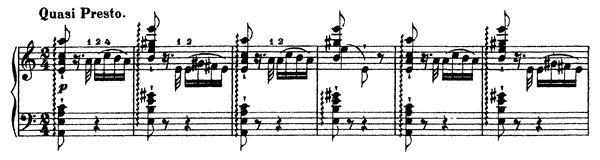 Etude  No. 6  in A Minor by Liszt piano sheet music