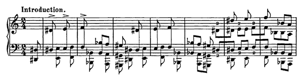 Galop  S. 218  in A Minor by Liszt piano sheet music