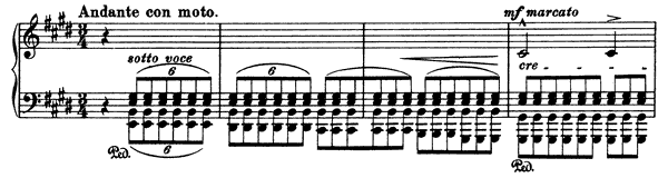 Invocation  No. 1  in E Major by Liszt piano sheet music