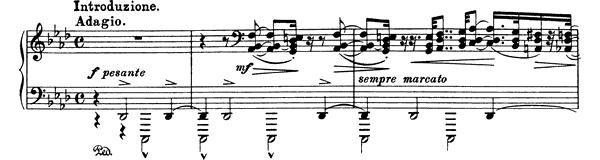 Funérailles  No. 7  in F Minor by Liszt piano sheet music