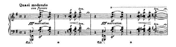 Malédiction  S. 121  in E Minor by Liszt piano sheet music