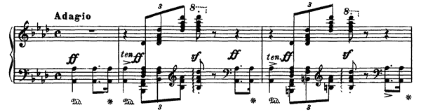 Paraphrase de concert sur Ernani  S. 432  in F Major by Liszt piano sheet music