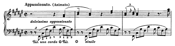Piano Piece in F-sharp  S. 193  in F-sharp Major by Liszt piano sheet music