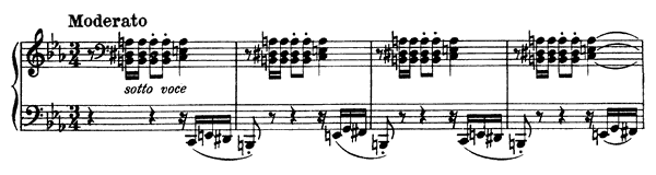 Polonaise  No. 1  in C Minor by Liszt piano sheet music