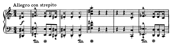 Valse - Caprice  No. 6  in A Minor by Liszt piano sheet music