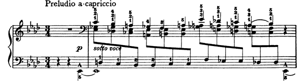 Valse - Caprice  No. 9  in A-flat Major by Liszt piano sheet music