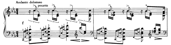 Schubert: Mädchens Klage  S. 563 No. 2  in C Minor by Liszt piano sheet music
