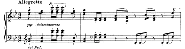 Schubert: Ständchen (Horch, horch)  S. 558 No. 9  in B-flat Major by Liszt piano sheet music