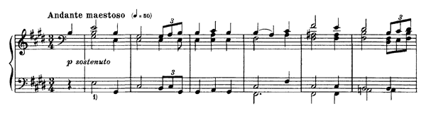 Wagner: Tannhäuser overture  S. 442  in E Major by Liszt piano sheet music