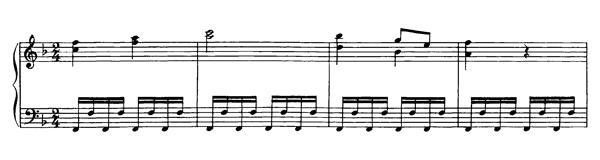 Sonata in F  No. 24  in F Major by Mozart piano sheet music