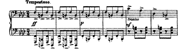 Sarcasm Op. 17 No. 1  by Prokofiev piano sheet music