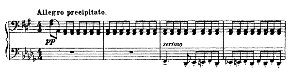 Sarcasm Op. 17 No. 3  by Prokofiev piano sheet music