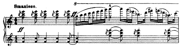Sarcasm Op. 17 No. 4  by Prokofiev piano sheet music