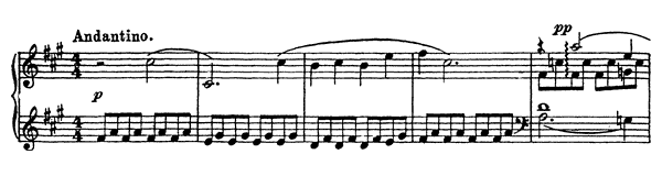 Tale Op. 31 No. 2  in F-sharp Minor by Prokofiev piano sheet music