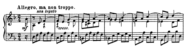 Sonata 2 Op. 14  in D Minor by Prokofiev piano sheet music