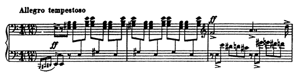 Sonata 3 Op. 28  in A Minor by Prokofiev piano sheet music