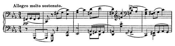 Sonata 4 Op. 29  in C Minor by Prokofiev piano sheet music