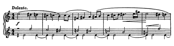 Vision Fugitive Op. 22 No. 16  by Prokofiev piano sheet music