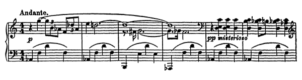 Vision Fugitive Op. 22 No. 2  by Prokofiev piano sheet music