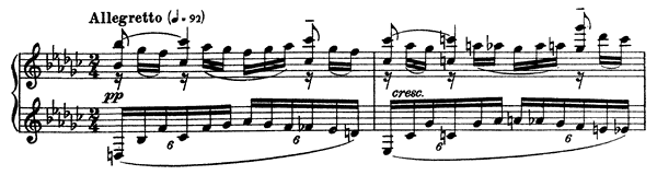Moment Musical Op. 16 No. 2  in E-flat Minor by Rachmaninoff piano sheet music