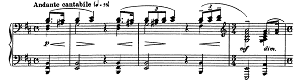 Moment Musical Op. 16 No. 3  in B Minor by Rachmaninoff piano sheet music