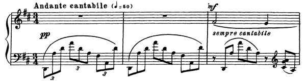 Prelude Op. 23 No. 4  in D Major by Rachmaninoff piano sheet music
