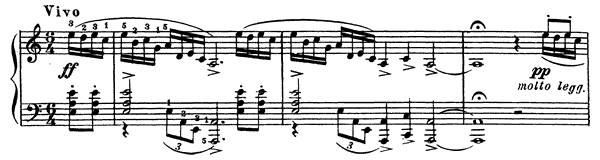 Prelude Op. 32 No. 8  in A Minor by Rachmaninoff piano sheet music