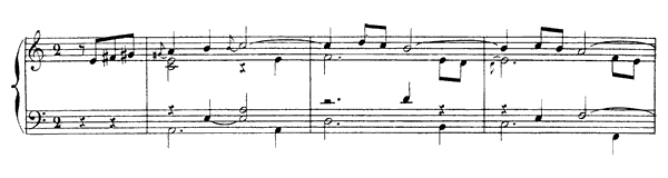 Second Allemande  No. 3  in A Minor by Rameau piano sheet music