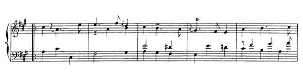 Second Sarabande  No. 7  in A Minor by Rameau piano sheet music