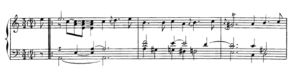 Courante  No. 4  in A Minor by Rameau piano sheet music
