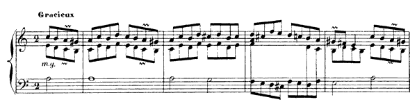 The Timid One, Rondo 1  No. 3  in A Minor by Rameau piano sheet music