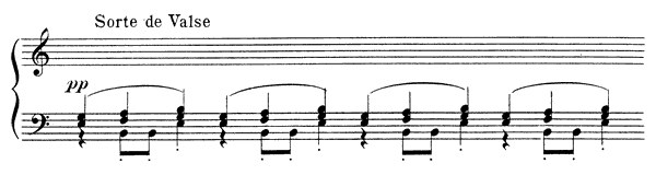 Españaña  No. 3  by Satie piano sheet music