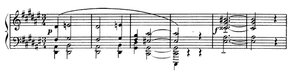 Sarabande  No. 2  in D-sharp Minor by Satie piano sheet music