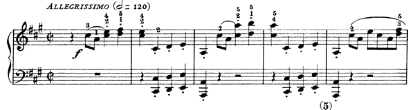 Sonata K. 113  in A Major by Scarlatti piano sheet music