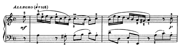 Sonata K. 149  in A Minor by Scarlatti piano sheet music