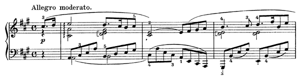 Sonata 13 Op. 120 D. 664  in A Major by Schubert piano sheet music
