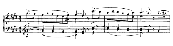 Trio  D. 610  in E Major by Schubert piano sheet music