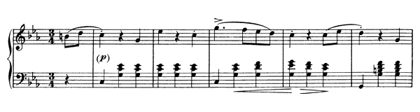 Variation on a Waltz by Diabelli (D. 718)   in C Minor by Schubert piano sheet music