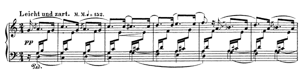 Arabesque Op. 18  in C Major by Schumann piano sheet music