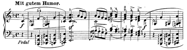 Ende vom Lied Op. 12 No. 8  in F Major by Schumann piano sheet music