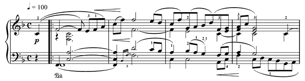 Träumerei Op. 15 No. 7  in F Major by Schumann piano sheet music