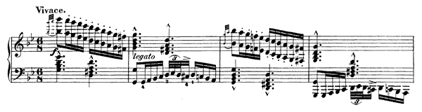 Caprice Op. 10 No. 3  in G Minor by Schumann piano sheet music