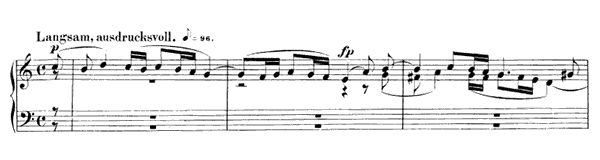 Piece in Fughetta Form Op. 126 No. 7  in A Minor by Schumann piano sheet music