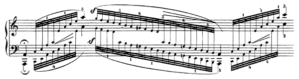 Caprice Op. 3 No. 1  in A Minor by Schumann piano sheet music
