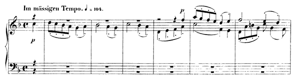 Fugue 4 Op. 72 No. 4  in F Major by Schumann piano sheet music