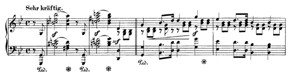 March Op. 76 No. 2  in G Minor by Schumann piano sheet music
