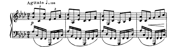 Etude Op. 42 No. 7  in F Minor by Scriabin piano sheet music