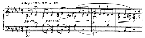 Mazurka Op. 25 No. 6  in F-sharp Major by Scriabin piano sheet music