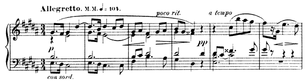 Mazurka Op. 25 No. 8  in B Minor by Scriabin piano sheet music