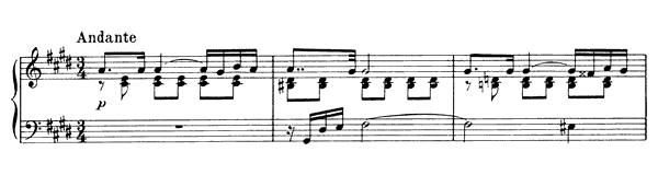Prelude for the Left Hand Op. 9 No. 1  by Scriabin piano sheet music